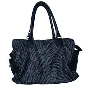 Diane von Furstenberg Grace Day Bag Zebra